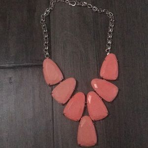 Kendra Scott Coral colored necklace